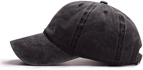 Washed Cotton Strapback-Baseball-Cap - Vintage Protection Dad-Hat-Unisex