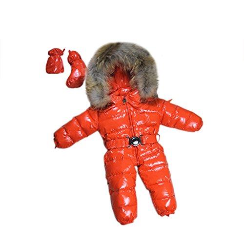 - 30 °C winterkleding, baby, meisjes, wintercombinatie, sneeuwmantel, eendendons, jas, sneeuwkleding voor kinderen, jongens.