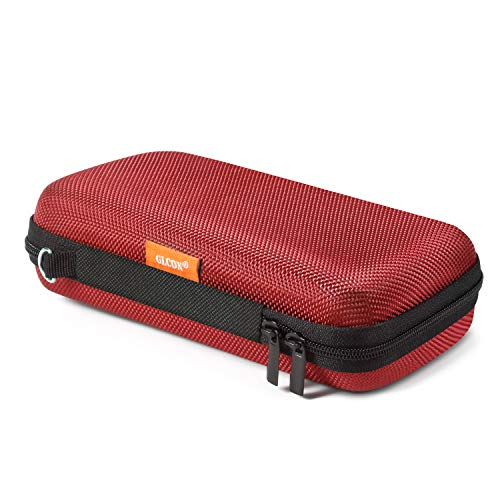 GLCON Hard Protective Travel Case, Electronic Organizer for Anker/Jackery/RAVPower Power Bank, Shockproof EVA Carrying Case for Cell Phones, Travel Gadgets for Cables, Car/GPS Accessories
