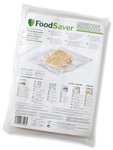 FoodSaver FSB4802-I-065 - Bolsas envasado al vacío, 20.7 x