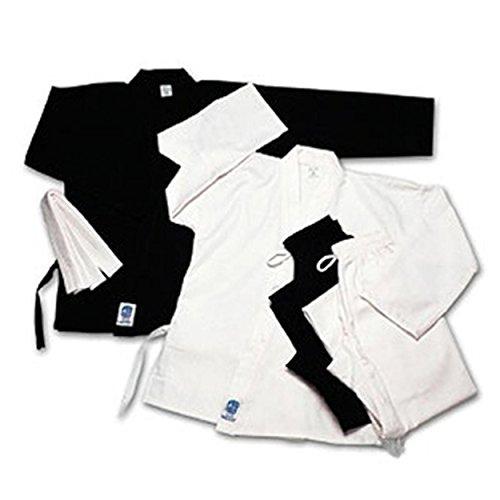 ProForce 5oz Ultra Light Weight Karate Gi/Uniform - Black - Size 1
