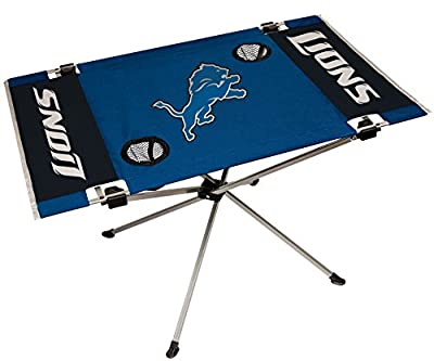 NFL Portable Folding Endzone Table, 31.5 in x 20.7 in x 19 in (All Team Options)