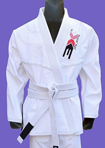 3X Professionele keuze Judo pak gebleekt wit judo uniform, kinderen judo pakken, volwassen judo kimono. wit judo trainingspakken