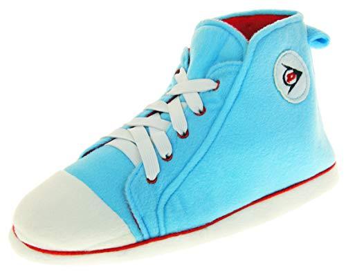 Dunlop Damen Hausschuhe Sneaker Pumps Stiefel Hell Blau EU 38-39