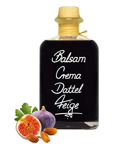 Balsamico Creme Dattel & Feige 1L 3%Säure Mit original Crema di Aceto Balsamico di Modena IGP.