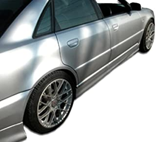 Extreme Dimensions Duraflex Replacement for 1996-2001 Audi A4 S4 B5 R-1 Side Skirts Rocker Panels - 2 Piece