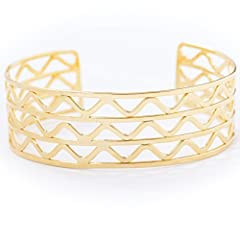 18K Gold Plated Base Hypoallergenic, Nickel-free, Lead-free NOUR by Nour Amira based in New Jersey, USA