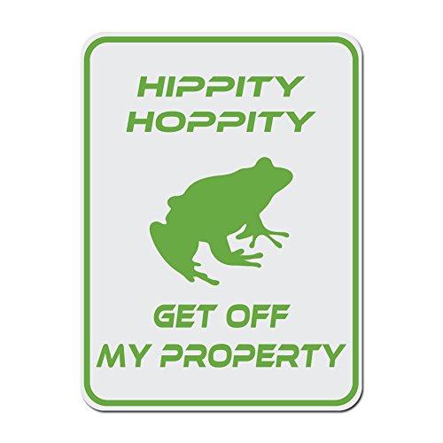Dark Spark Decals Hippity Hoppity Get Off My...