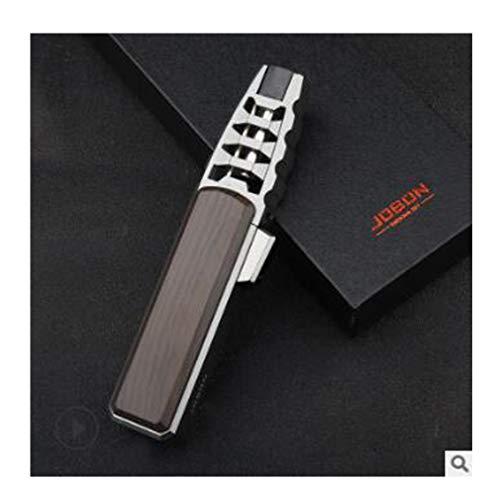 Ashopfun Turbine Torcher - Pen Spray Gun Jet Butane Pipe Lighter Metal Gas Kitchen (Brown)
