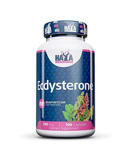 Haya Labs ECDysterone, 250 Mg, 100 Caps, 80 Gramas