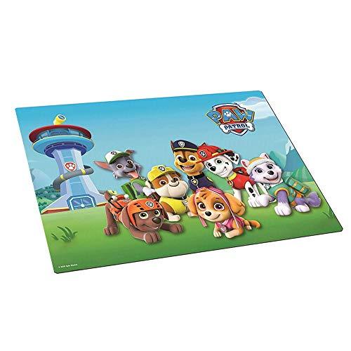 PAW PATROL Tisch-Unterlage 42 x 29 cm | Kinder Platz-Set-Deckchen