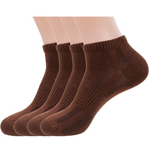 Tan or Brown Ankle Socks Men