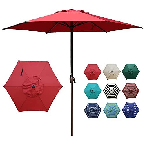 Abba Patio 9ft Patio Umbrella Outdoor Umbrella Patio Market...