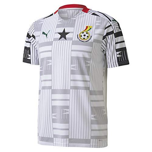 PUMA Ghana Home Replica Herren Trikot Puma White-Puma Black L