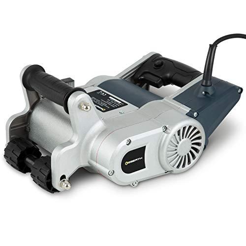 EBERTH Scanalatrice da muro (Motore elettrico da 1450 watt, Fresa da 25mm e 35mm, Profondità di taglio 45 mm, Custodia e accessori inclusi)