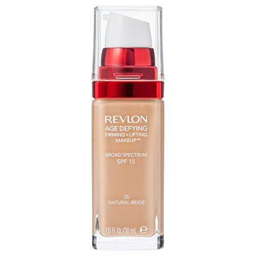 Revlon Age Defying Firming and Lifting Makeup, Natural Beige (packaging may vary)