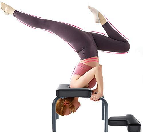 Sedia Yoga Inversion - Sedia di Inversione Per Famiglia, Palestra -Cuscinetti in PU- Allevia la Fatica e costruisci Il Corpo Orso Massimo 150kg