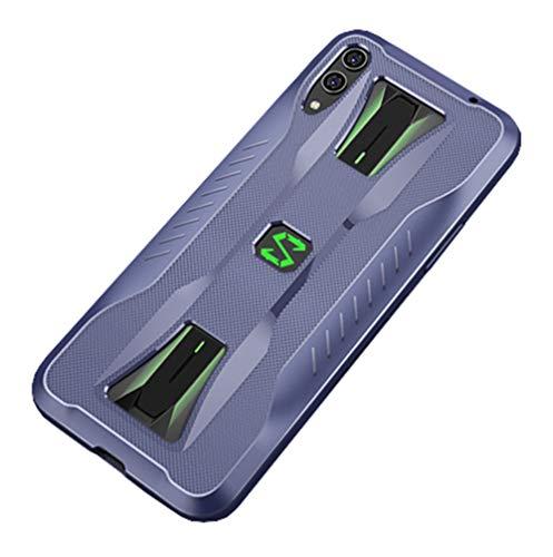 NOKOER Hülle für Xiaomi Black Shark 2 Pro, TPU-Material Weich Superdünn Hülle, Slim Fit Wärmeableitung Handyhülle [Abriebfest] [rutschfest] - Dunkelblau
