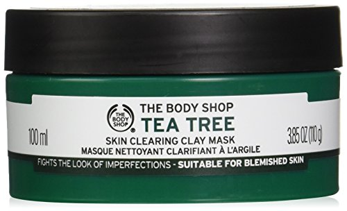 Price comparison product image The Body Shop Tea Tree Skin Clearing Clay Face Mask,  3.85 Oz