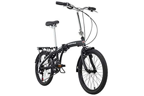 KS Cycling Faltrad 20'' Quickfold schwarz-weiß RH 27 cm