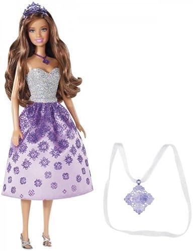 Envíos y devoluciones gratis. Barbie Princess Princess Princess Teresa Doll and Gift for Girl Necklace  ofreciendo 100%
