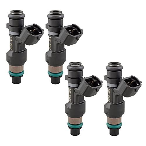 Set of 4 Fuel Injectors Compatible with Nissan NV200 2.0L Altima Rogue 2.5L L4