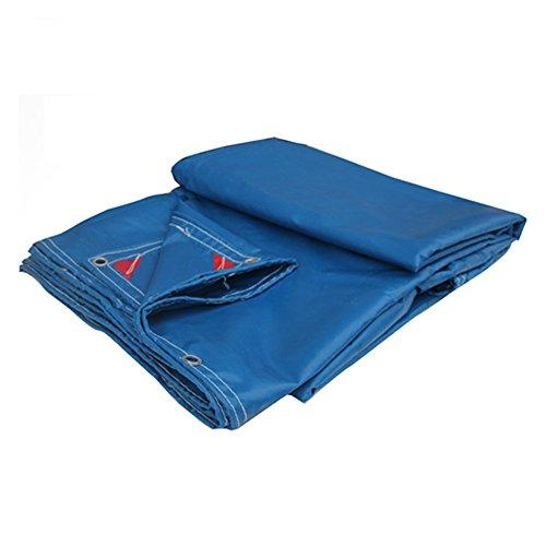 Tente bâches Coutume imperméable de bâche imperméable de bâche d'ombre de bâche imperméable de PVC de tissu imperméable Il est largement utilisé (Couleur : Bleu, taille : 5*8m)