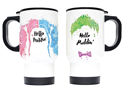 41bb16VIJrL Harley Quinn Travel Mugs