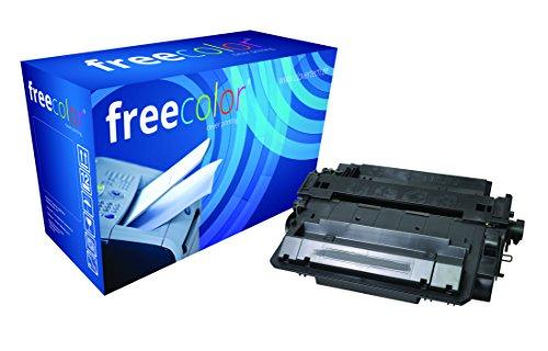 freecolor CE255X voor HP LaserJet P3015, premium tonercartridge, gerepareerd, 12.500 pagina's, 5% dekking, zwart