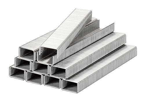 kwb by Einhell 1000 Stk. Klammern (passend für Einhell Elektro-Tacker TC-EN 20 E und Akku-Tacker TC-CT 3,6 Li, 11,4 x 8 mm, aus Stahl, Typ 053)