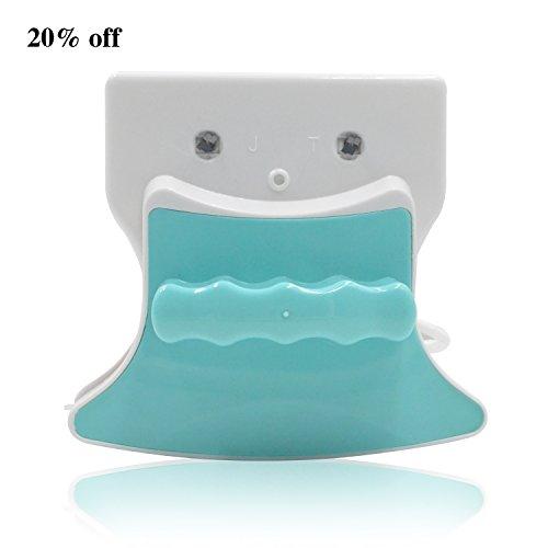 Double Face carré magnétique Window Cleaner Blanc + Vert 5–12 mm