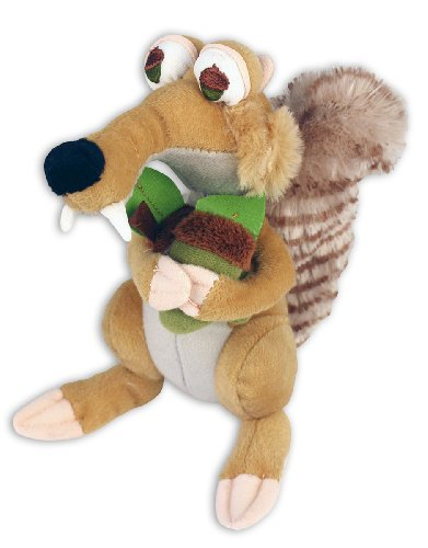 Ice Age 3 - Plush Doll / Figurine (Scrat) (Size: Approx. 8' in height)