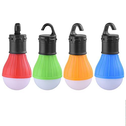 GreeSuit 4 paquetes LED lámpara camping aire libre
