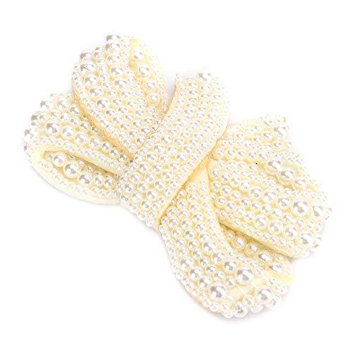 Fermagli per scarpe Fiocchi di perle Accessori artigianali di scarpe squisiti Scarpe da sposa per ragazze da donna per borsa da festa