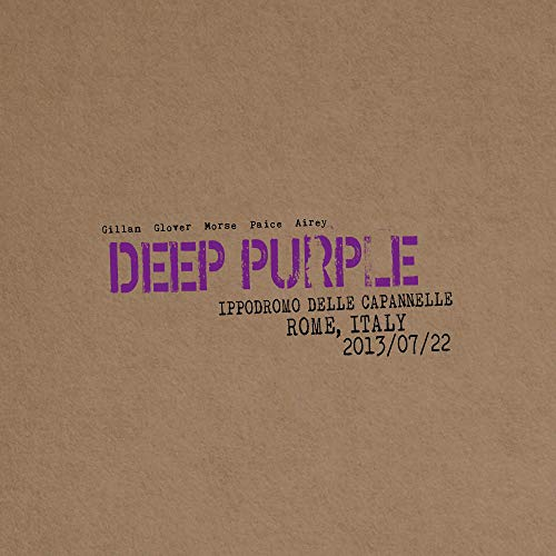 Deep Purple - Live In Rome 2013 (Ltd. 2CD Digipak)