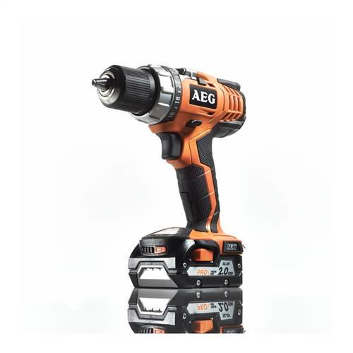 AEG 4935443971 BS 14C Akku-Kompakt-Bohrschrauber, 28.8 W, 14.4 V, Schwarz, Orange