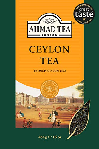 Ahmad Tea of London : Ceylon Tea (loose tea) 454gram /16 Ounce