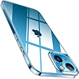 TORRAS Crystal Clear Kompatibel mit iPhone 13 Mini Hülle Transparent (Vergilbungsfrei) Flexibles...