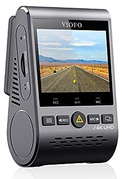 VIOFO A129 Pro 4K Dash Cam 3840x2160P Ultra HD 4K Dash Camera Sony 8MP Sensor GPS Wi-Fi Buffered Parking Mode G-Sensor Motion Detection WDR Loop Recording
