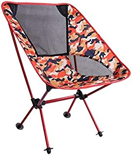 Portable Collapsible Moon Chair Fishing Camping BBQ Stool Folding Extended Hiking Seat Garden Ultralight Office Home Furniture-7