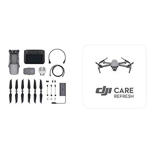 DJI Mavic 2 Pro Drohne + Smart-Fernsteuerung - Drohne mit Hasselblad L1D-20c Kamera & Mavic 2 - Care Refresh, VIP Serviceplan Mavic 2 Pro/Zoom, bis zu 2 Ersatzgeräte innerhalb von 12 Monaten