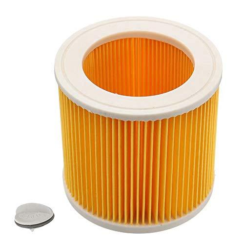 KingFurt Cartridge Filter Fit Karcher WD2.200 WD3.500 Nat & Droog Stofzuiger