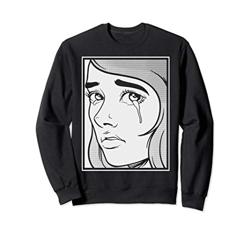 Sad E-Girl Aesthetic | E-Boy Sad Boy Girl Soft Grunge Teen Sweatshirt