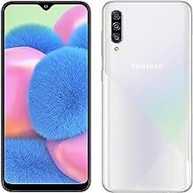 Samsung Galaxy A30S A307G 64GB Unlocked GSM Dual SIM Phone (Prism Crush White)