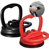 QQCherry Dent Puller, Dent Repair Puller, Powerful Traceless Dent Removal for Cars Computer Screen Glass Tiles Mirror Lifting and Objects Moving 2 Pack(Small)