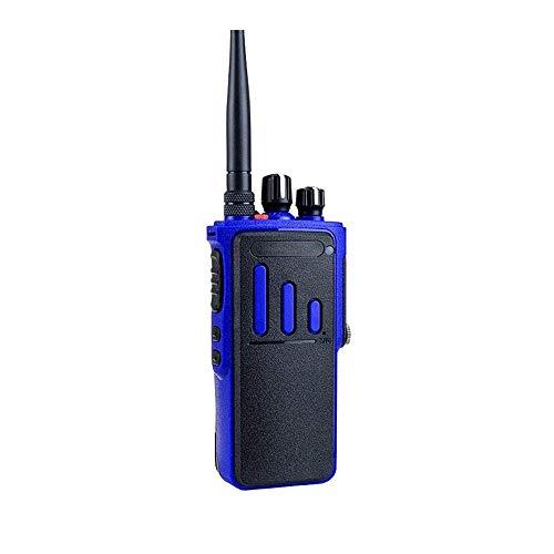 Z-Color 3-5W de Alta Potencia de walkie Talkie-walkie Talkie Mini UHF 400-520 MHzFrequency, 16 Canales, 4200mAh Fuerte penetración, Extra Larga Espera