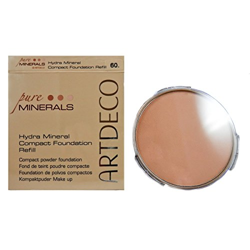 Artdeco Hydra Mineral Compact Foundation refill, 60, light beige, 1er Pack