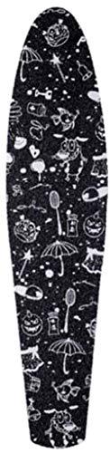 Etiqueta Engomada del Monopatín Etiqueta Engomada Profesional del Monopatín Sólido/Impreso Antideslizante Impermeable Adhesivo Solo Rocker Papel De Lija para Penny Board