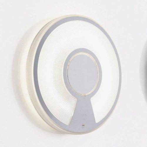 LucePlan Lightdisc Transparent Ø 40, Opal, 55W, opal transparent Polycarbonat mit elektronischem Vorschaltgerät (EVG)