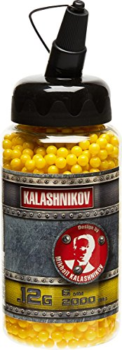KALASHNIKOV - Pallini per Pistola, Confezione da 2.000, BB 0,12 g